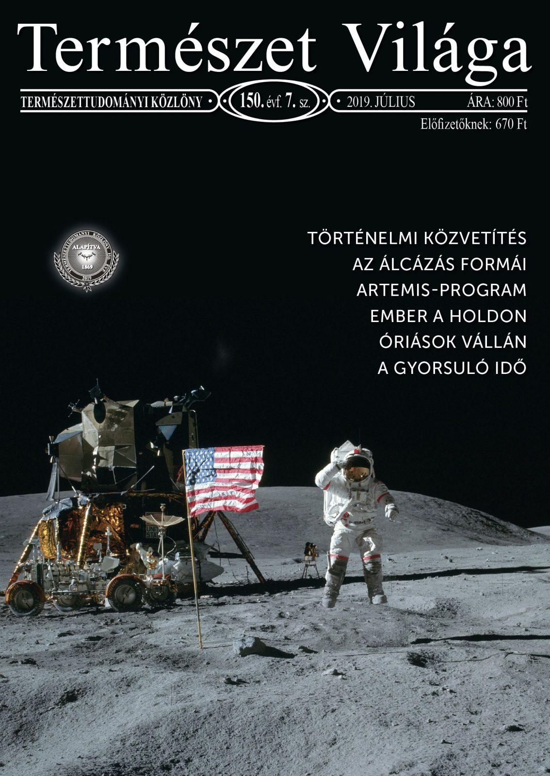 Természet Világa címlap